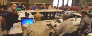 Council members meet at Horicon, WI in 2016